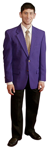Men's purple blazers