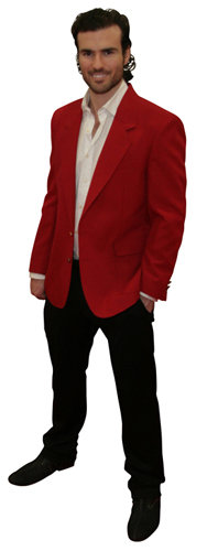 red blazer for men